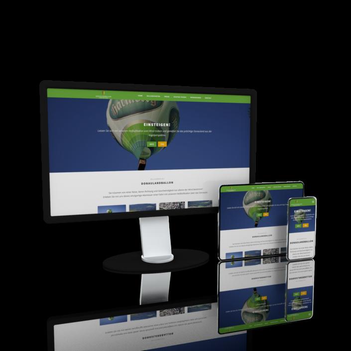 Website Webdesign Passau