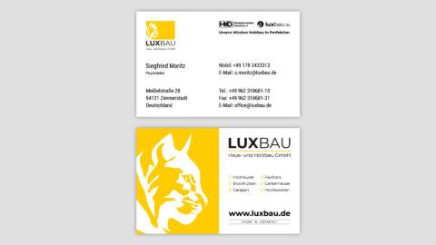 Corporate Design Visitenkarte Passau